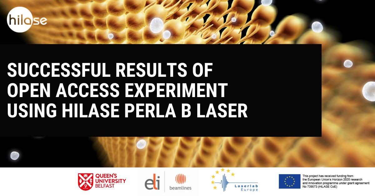 QUB Laserlab PERLA experiment